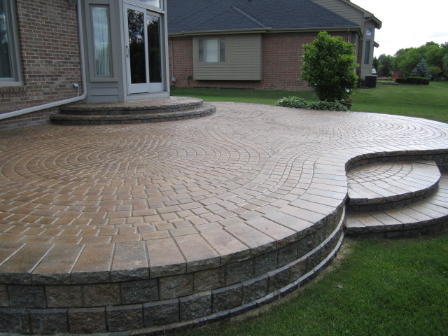 raised patio ideas raised patio for a sloping backyard the best images about raised patios