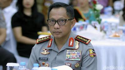 Kapolri Sebut Ada Sempalan Saracen di Hong Kong yang Ikut MCA - Info Presiden Jokowi Dan Pemerintah