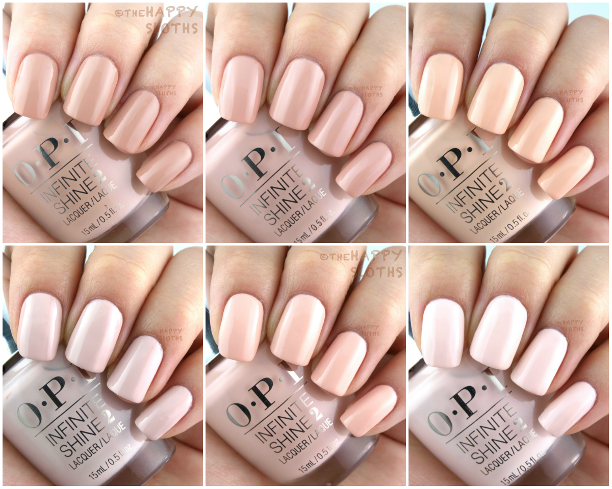 OPI Infinite Shine Summer Collection 2016 - Of Life and