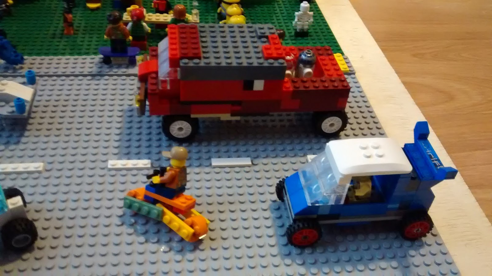 Eclectic Momma: Lego Contest: Plaza Pandemonium