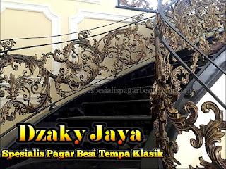 Railing Tangga, model railing tangga besi tempa desain railing tangga besi tempa gambar railing tangga besi tempa