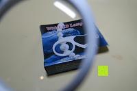 Vergrößerung: Einklappbare Alltags Lupe mit LED Licht - Kompakt und überall einsetzbar