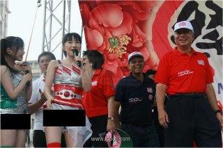 Hasil carian imej untuk najib dengan penari k-pop