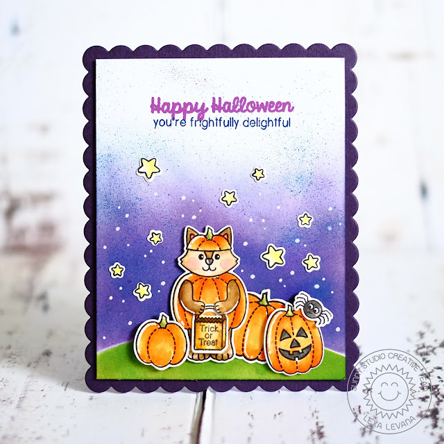 Sunny Studio Stamps: Halloween Cuties & Harvest Happiness Card by Lexa Levana.