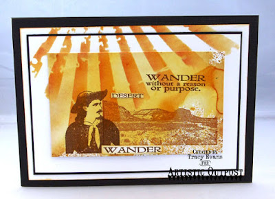 Artistic Outpost Stamps: Wander and Dream