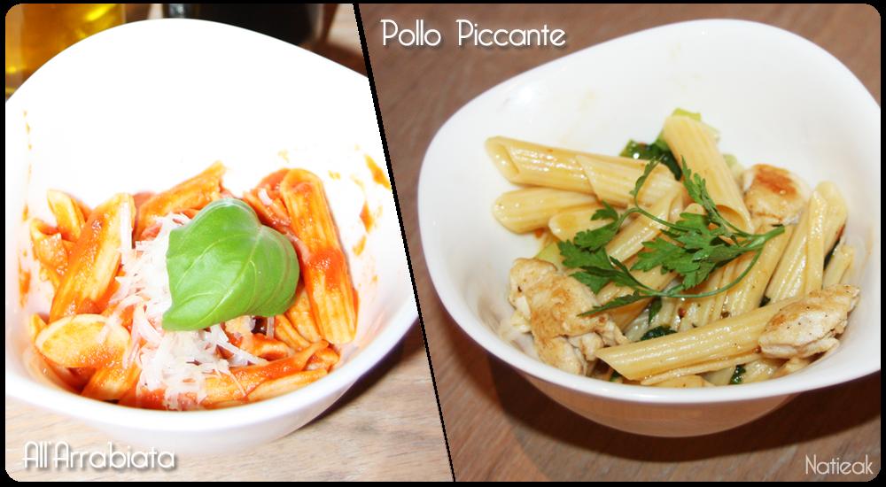 Restaurant Vapiano de Bercy Village pasta sans gluten