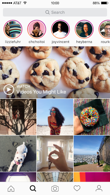Instagram has now added a new feature to see Instagram Stories on Explore for iOS, Android and Windows 10.