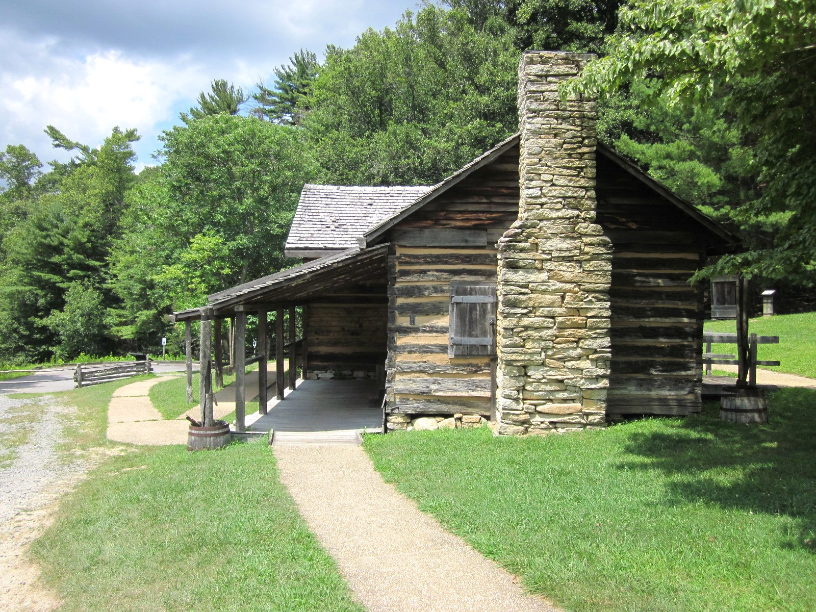 Travel Nc With Kids Hutchinson Homestead At Stone Mountain State
