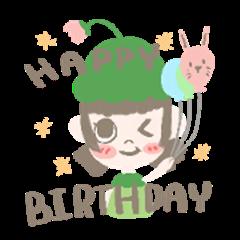 Kappa little sister birthday