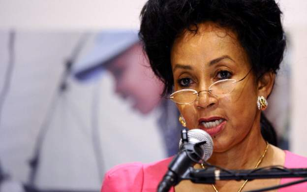 South African Housing minister, Ms Lindiwe Sisulu