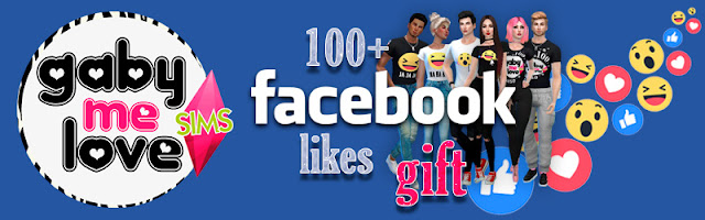 100+ facebook likes gift, Reacting to you ☻ T-Shirts ~ SET - Gabymelove Sims