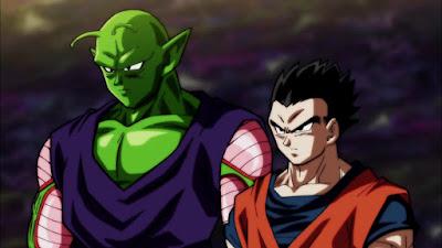 Goku dan Piccolo vs Botamo