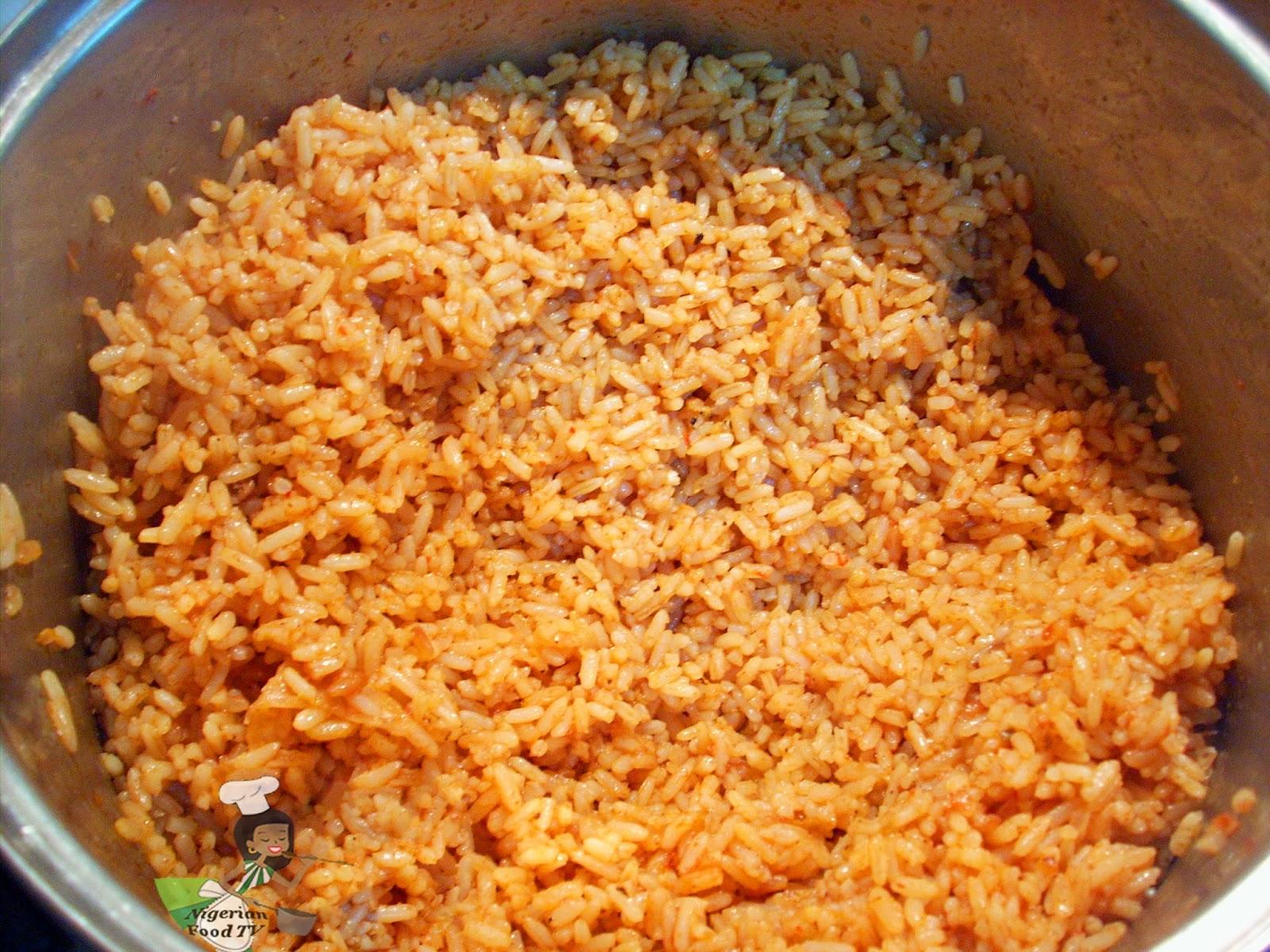 Jollof Rice ,Nigerian Jollof Rice ,Party Jollof Rice