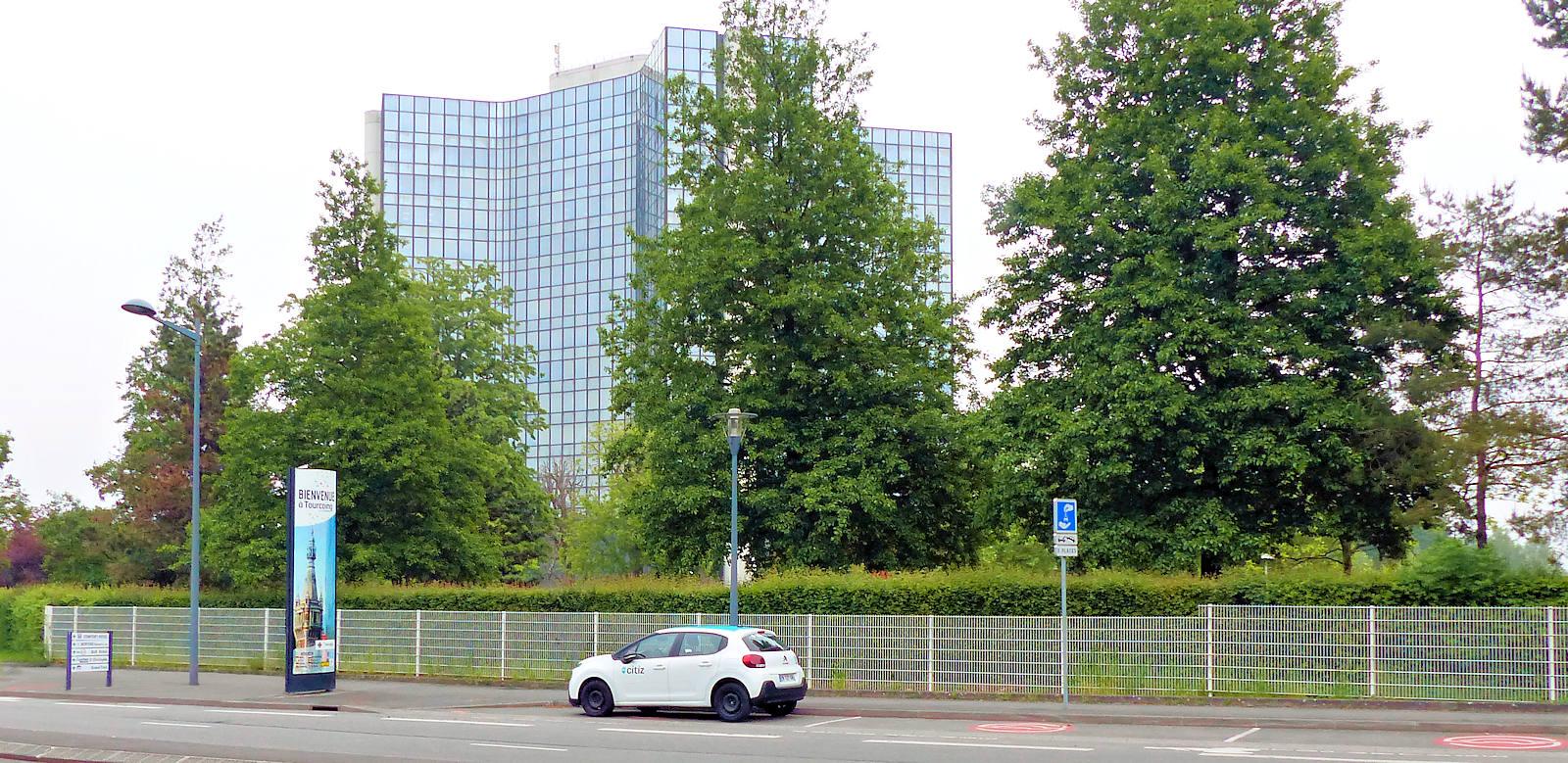 Station Union Mercure - Autopartage Citiz, Tourcoing
