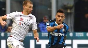 انتر ميلان يتعثر امام كالياري بالتعادل الاجابي بهدف لمثله في الجولة 21 من الدوري الايطالي