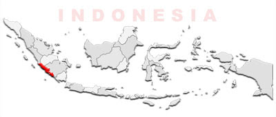 image: Bengkulu Map location
