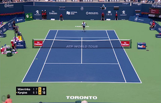 Rogers Cup ATP 1000 World Tour Canada Biss Key 8 August 2018