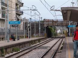 Ercolano Scavi station