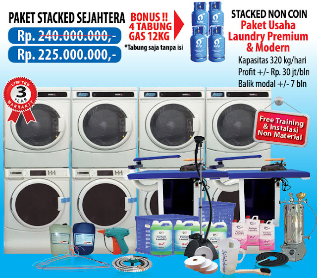 5-PAKET-SEJAHTERA-NON-COIN Paket Usaha Laundry kredit Tanpa survey