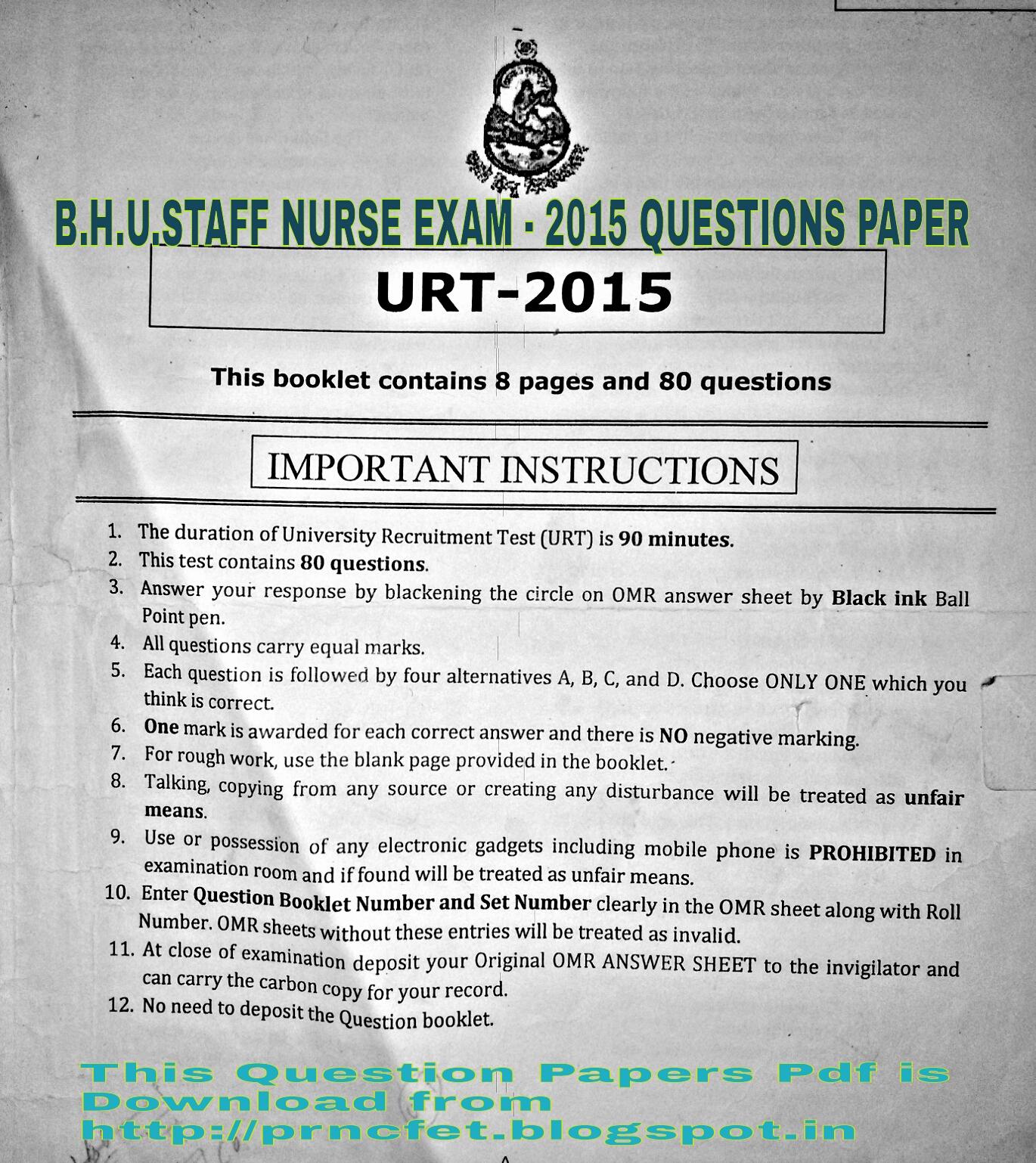 Iit Question Paper 2015 Pdf