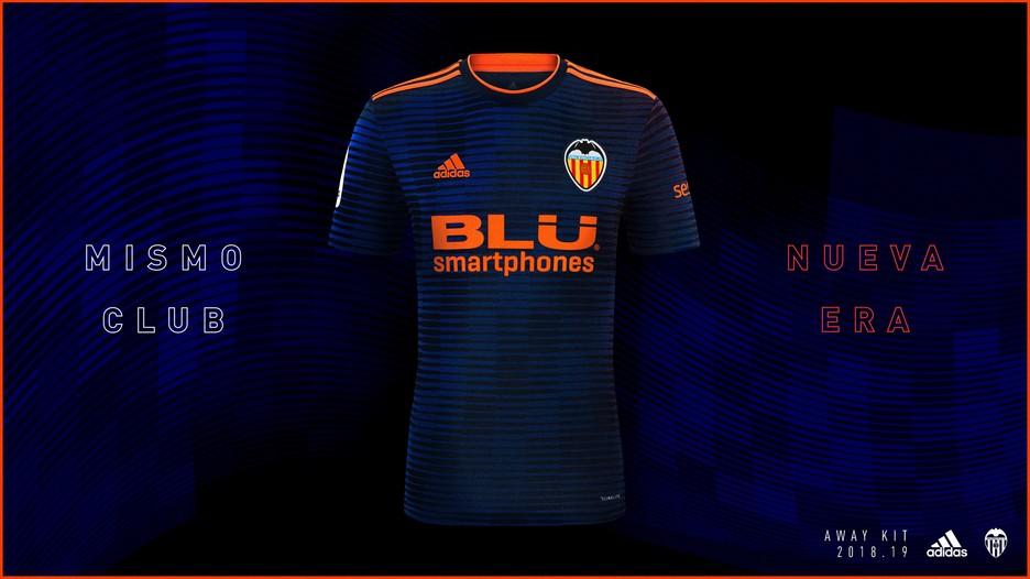 abca216285c Valencia Adidas 2018-19 HOME JERSEY SHIRT SOCCER FUSSBALL REPLICA ...