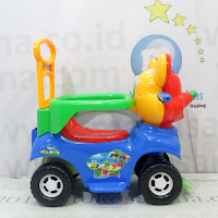 Ride-On Car MP869 Mikiko Odong- Odong