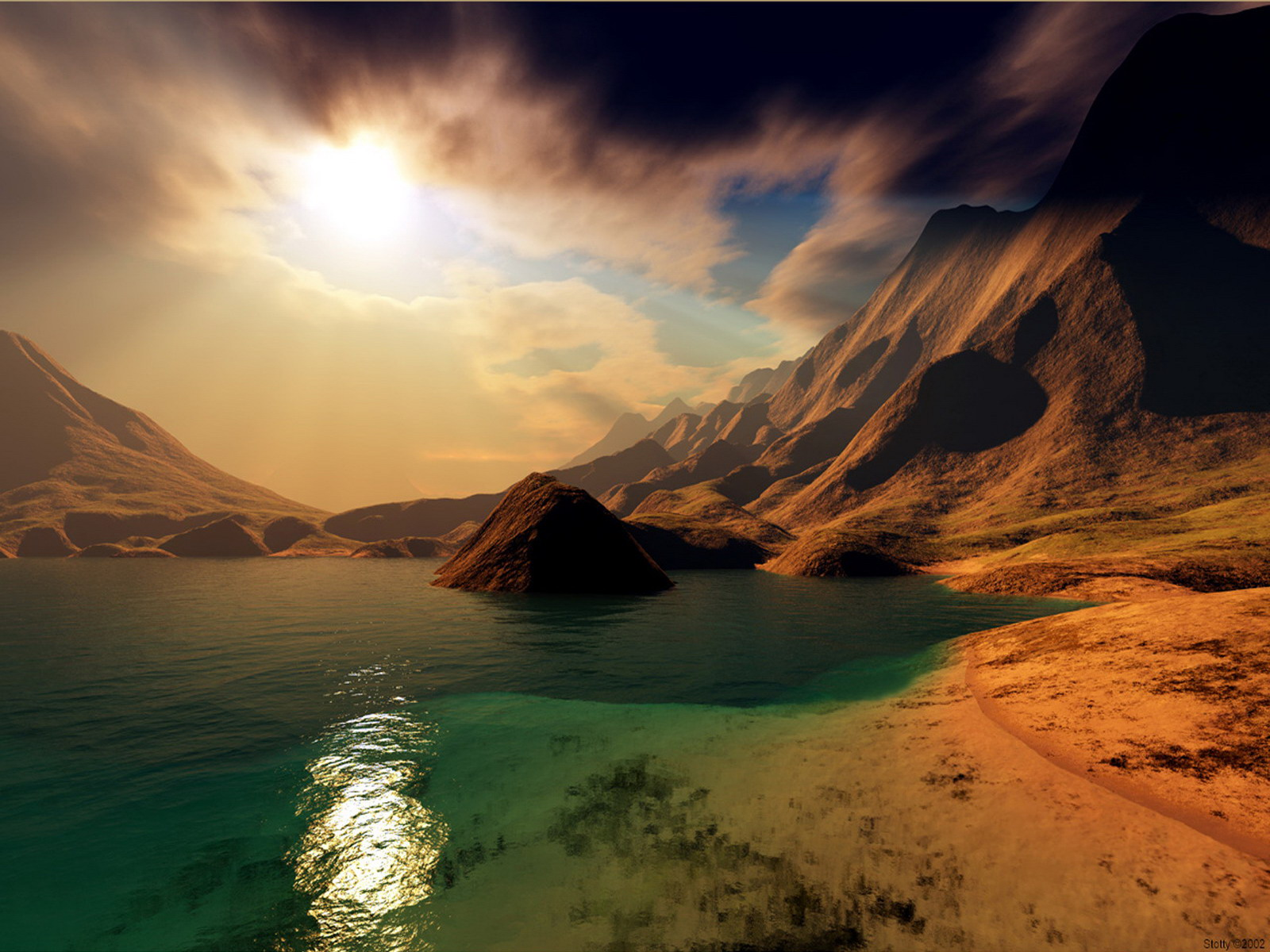 Cool Landscape Nature Background Wallpapers
