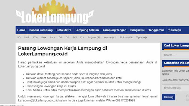 Lokerlampung.co.id