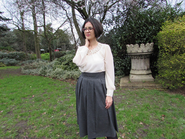 feel like a lady with a midi skirt
