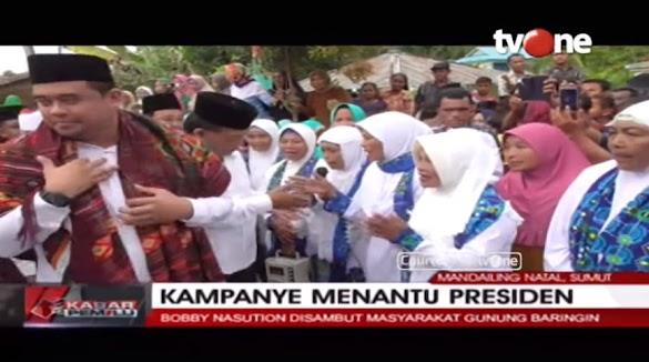 Hadiri Kampanye Menantu Jokowi, Bupati Mandailing Natal Akan Dilaporkan Ke Bawaslu