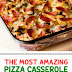 The Most Amazing Pizza Casserole (Low Carb & Gluten Free)