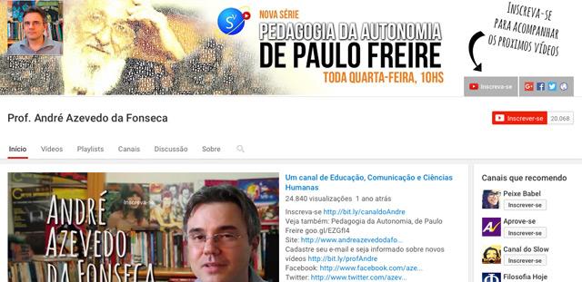 https://www.youtube.com/user/azevedodafonseca