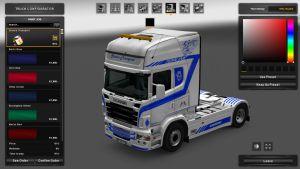 Transport Skin for Scania RJL