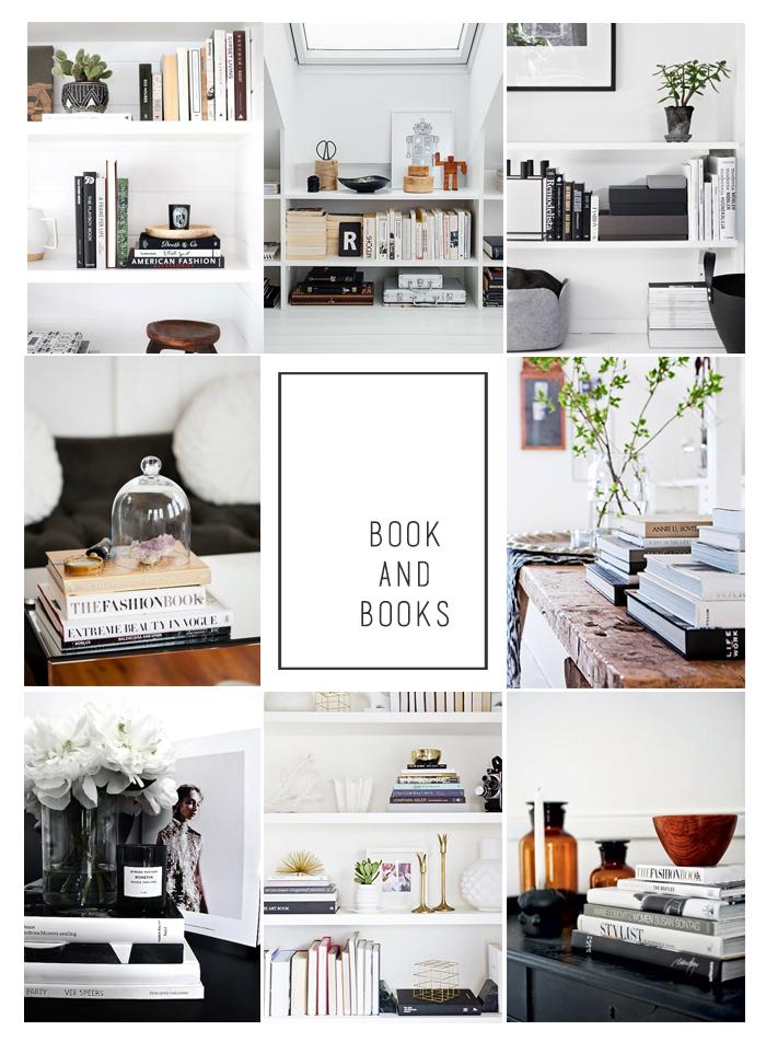 Books in interiors