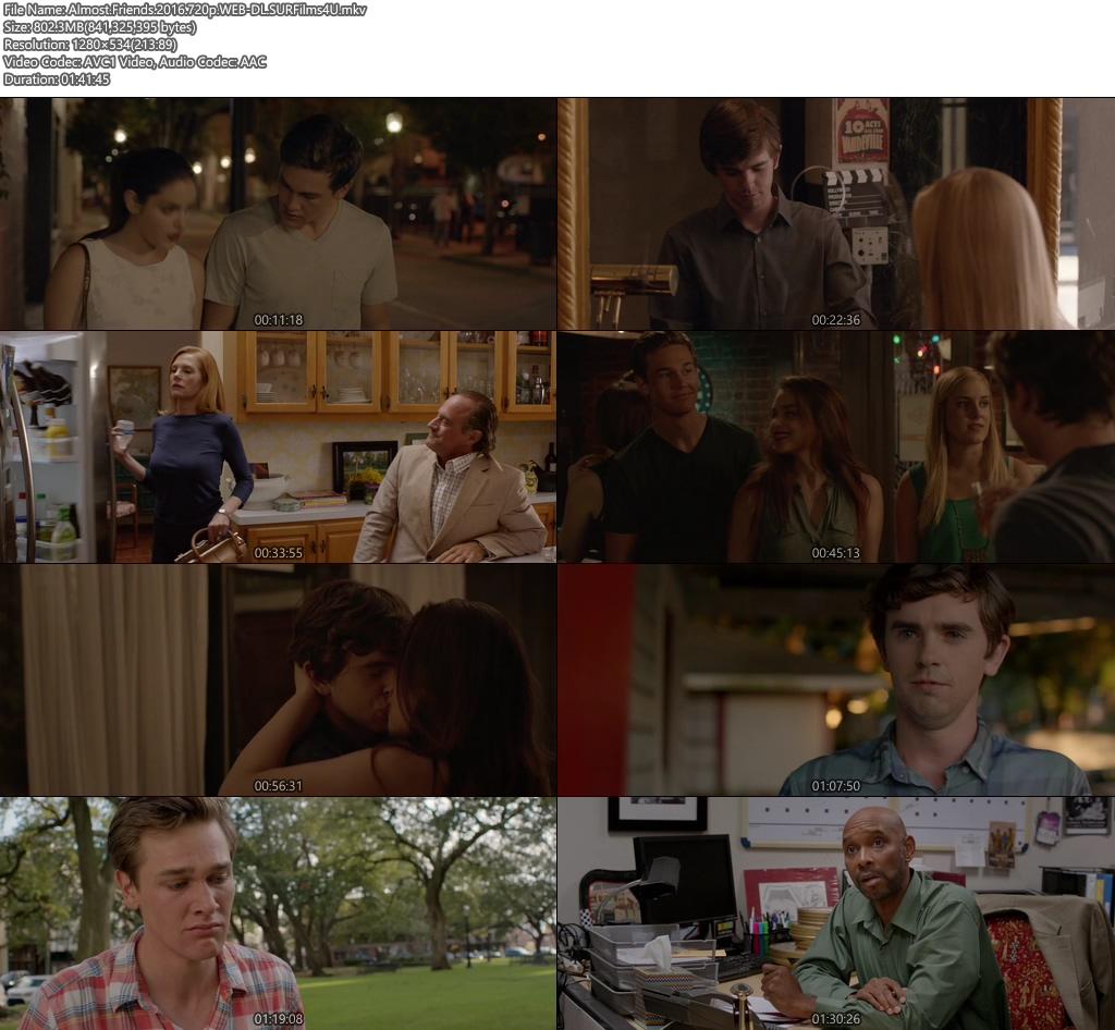 Almost Friends 2016 720p WEB-DL 800MB Screenshot