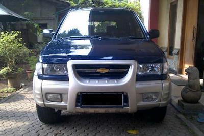 Eksterior Chevrolet Tavera Tampak Depan