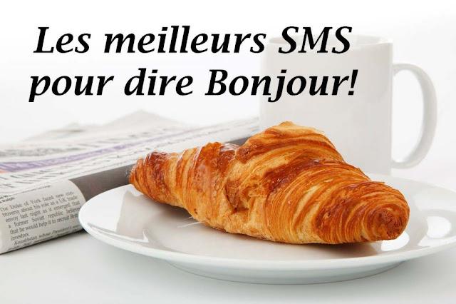 sms bonjour amour
