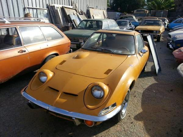 1970 Opel GT Project for sale