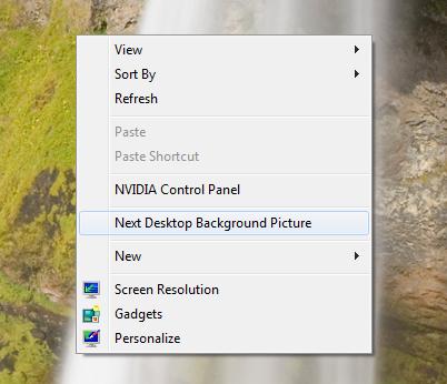 Create a Shortcut to Change Windows 7/8 Wallpaper | The Tech