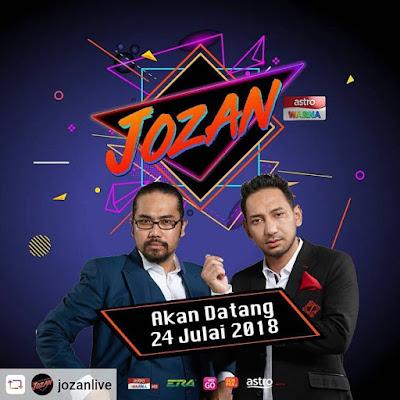 Live Streaming Jozan Live Minggu 6 [ 28.8.2018 ]