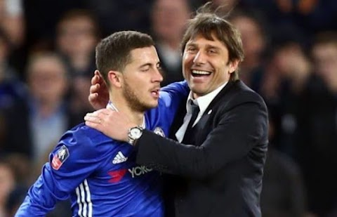 Conte admits Hazard might leave Chelsea