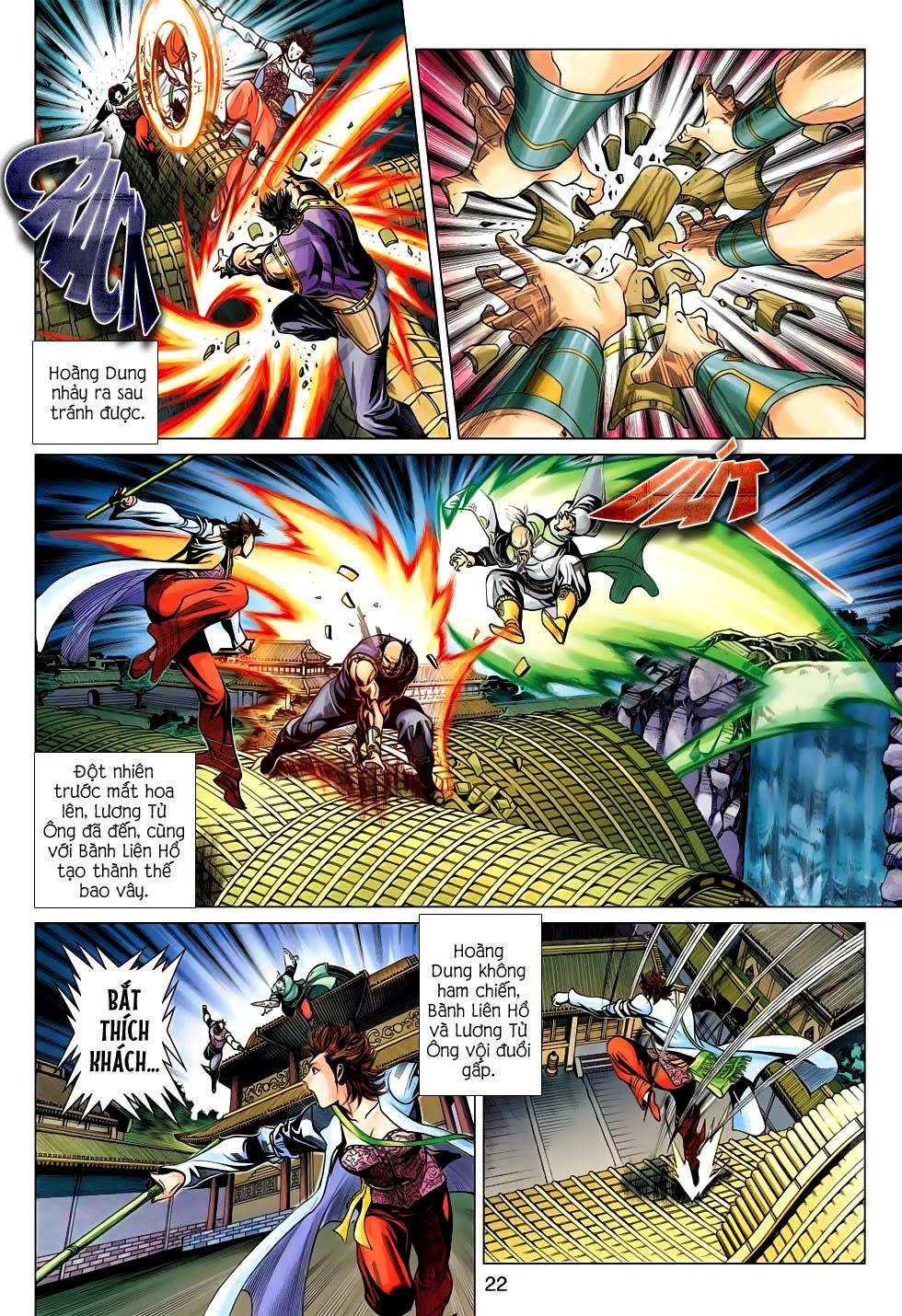 Anh Hùng Xạ Điêu anh hùng xạ đêu chap 56: tuyệt tình vô nghĩa lãnh huyết ác niệm trang 22