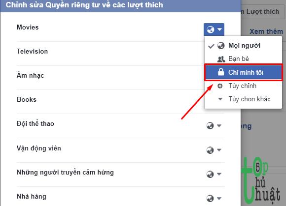 Tuyệt chiêu ẩn Like Facebook với bạn bè