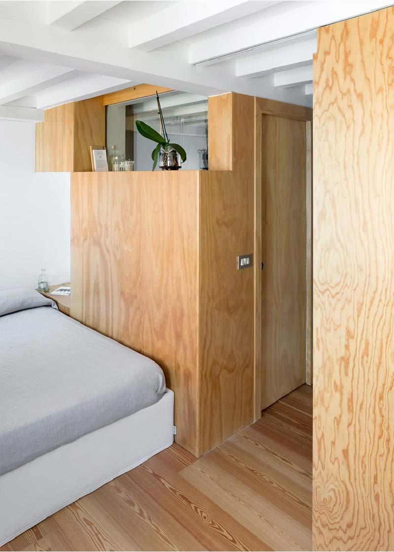 parete divisoria legno Cyan House