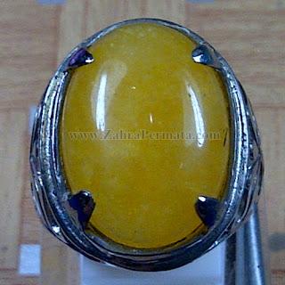 Cincin Batu Yellow Quartz - ZP 1031