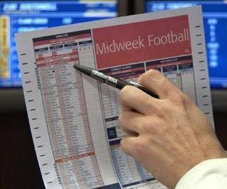 football paper gambling