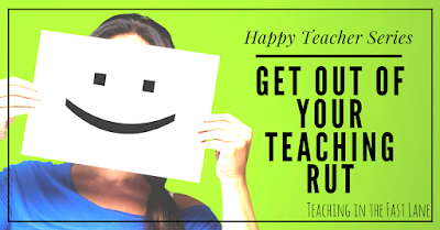 Do you find yourself in a teaching funk? Try these tips for climbing the ladder back out of your rut and being the best you!