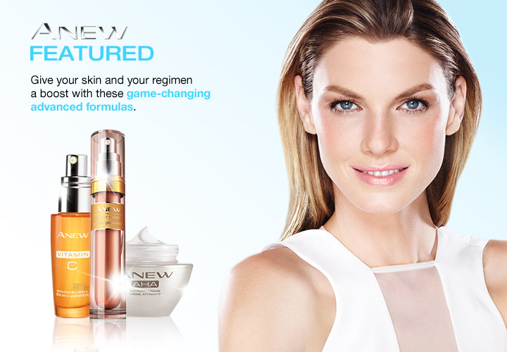 Anew Featured. Give your skin and your regimen  a boost with theses game-changing advanced formula