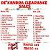 Dexandra Clearance Sale