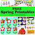 Free Spring Printables for Kids